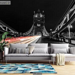 پوستر دیواری طرح پل برج لندن DA-2653