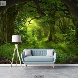 پوستر دیواری طرح جنگل DA-2657