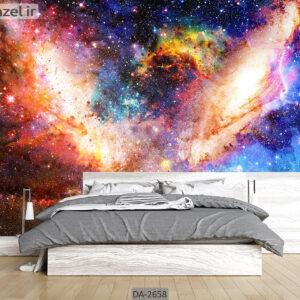 پوستر دیواری طرح کهکشان DA-2658