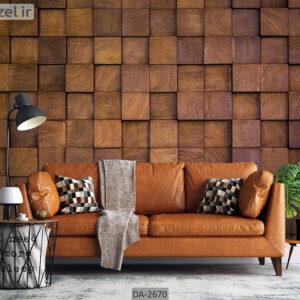 پوستر دیواری طرح چوب DA-2670