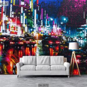 پوستر دیواری طرح شهر DA-2672