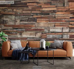 پوستر دیواری طرح چوب DA-2704