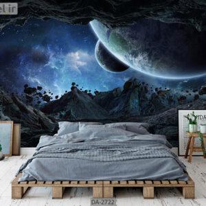 پوستر دیواری طرح کهکشان DA-2722