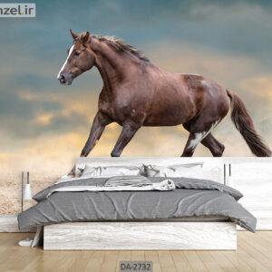پوستر دیواری طرح اسب DA-2732