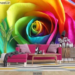 پوستر دیواری طرح گل طبیعی DA-2743