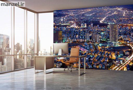 پوستر دیواری طرح شهر DA-2796