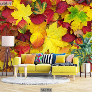 پوستر دیواری طرح برگ پاییز DA-2803