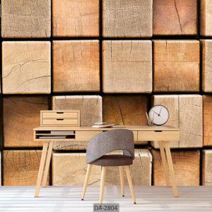 پوستر دیواری طرح چوب DA-2804
