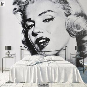 پوستر دیواری طرح چهره زن DA-2805