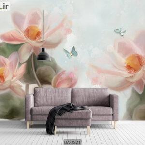 پوستر دیواری طرح گل طبیعی DA-2821