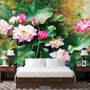 پوستر دیواری طرح گل DA-2824