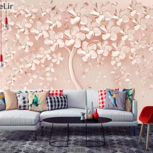 پوستر دیواری طرح گل فانتزی DA-2833