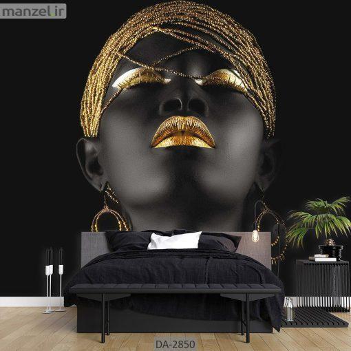 پوستر دیواری طرح چهره زن DA-2850