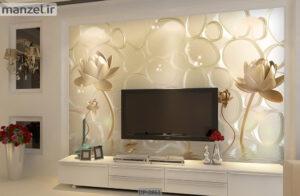 پوستر دیواری طرح گل فانتزی DP-2861