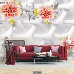 پوستر دیواری طرح گل فانتزی DP-2926