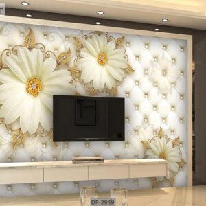 پوستر دیواری طرح گل فانتزی DP-2949