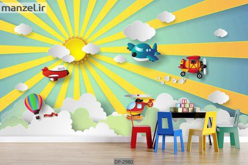 پوستر دیواری طرح کودک DP-2980