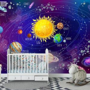 پوستر دیواری طرح کودک DP-2985