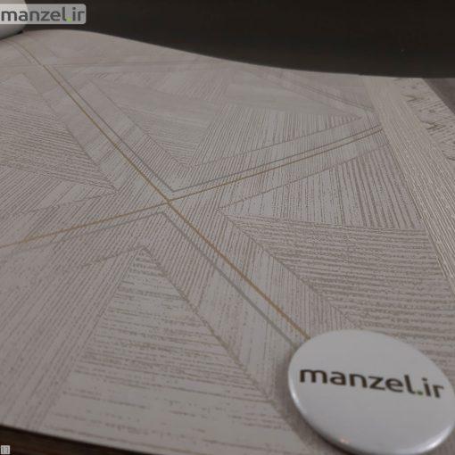 کاغذ دیواری طرح اشکال هندسی کد 1801102