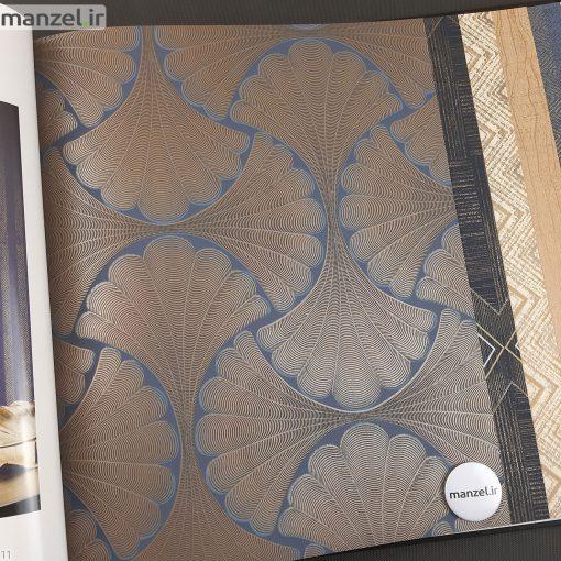 کاغذ دیواری طرح اشکال هندسی کد 1801605