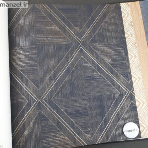 کاغذ دیواری طرح اشکال هندسی کد 1801104