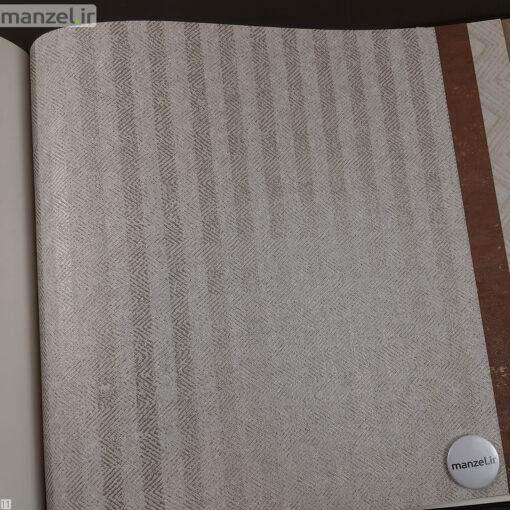کاغذ دیواری طرح راه راه کد 1801903