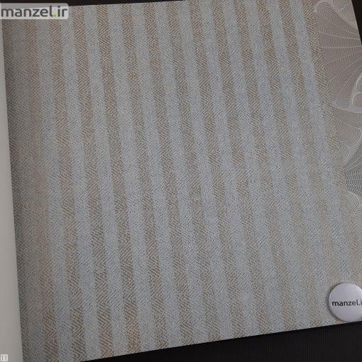 کاغذ دیواری طرح راه راه کد 1801902