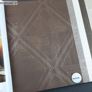 کاغذ دیواری طرح اشکال هندسی کد 1801103