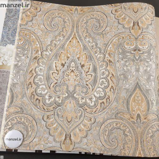 کاغذ دیواری طرح داماسک کد 1802202
