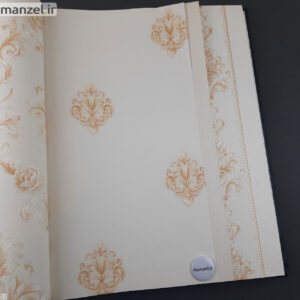 کاغذ دیواری طرح داماسک کد ۱۸۰۵۱۱۲