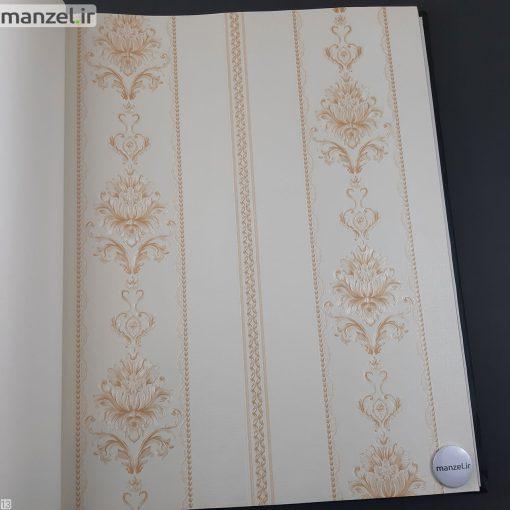 کاغذ دیواری طرح داماسک کد 1805122