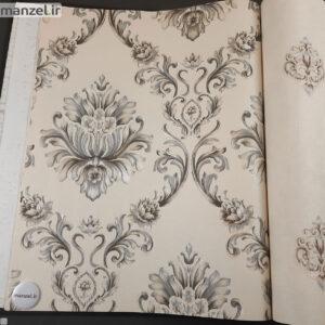 کاغذ دیواری طرح داماسک کد ۱۸۰۵۱۰۴