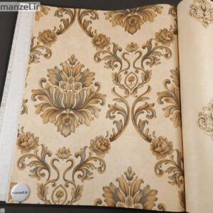 کاغذ دیواری طرح داماسک کد ۱۸۰۵۱۰۵