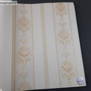 کاغذ دیواری طرح داماسک کد ۱۸۰۵۱۲۳
