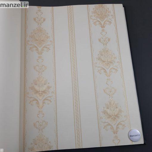کاغذ دیواری طرح داماسک کد 1805123