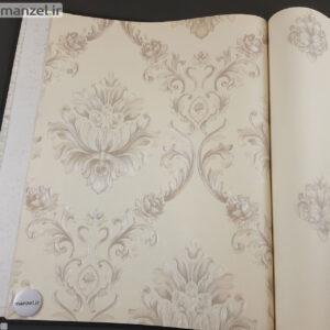 کاغذ دیواری طرح داماسک کد ۱۸۰۵۱۰۱
