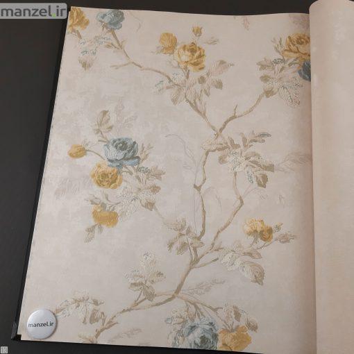 کاغذ دیواری طرح گل کد 1805513