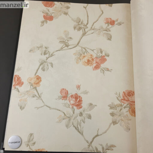 کاغذ دیواری طرح گل کد 1805516