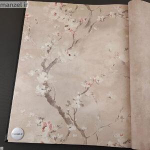کاغذ دیواری طرح گل کد 1805611