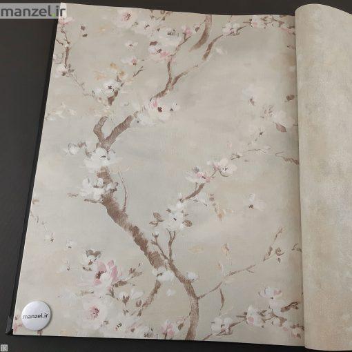 کاغذ دیواری طرح گل کد 1805613