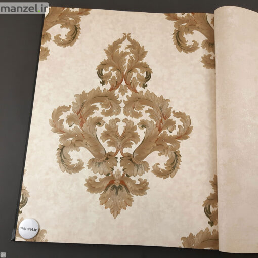 کاغذ دیواری طرح داماسک کد 1805712
