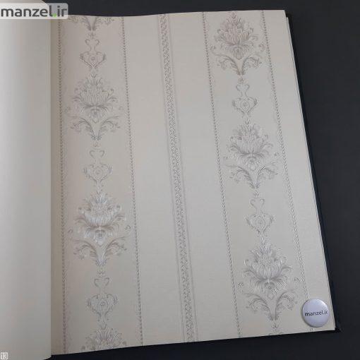 کاغذ دیواری طرح داماسک کد 1805121
