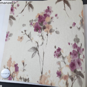 کاغذ دیواری طرح گل کد ۱۸۰۳۹۰۲