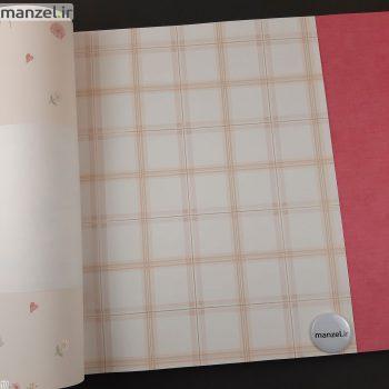کاغذ دیواری طرح چهارخانه کد bq271103