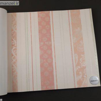 کاغذ دیواری طرح راه راه کد bq270903