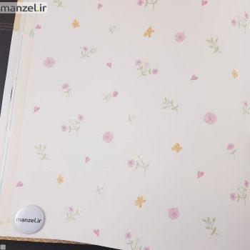 کاغذ دیواری طرح گل کد bq271003