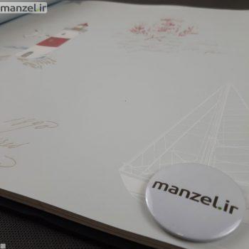 کاغذ دیواری طرح فانوس دریایی کد bq271201