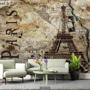 پوستر دیواری طرح برج ایفل DP-3113