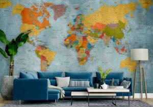 پوستر دیواری نقشه