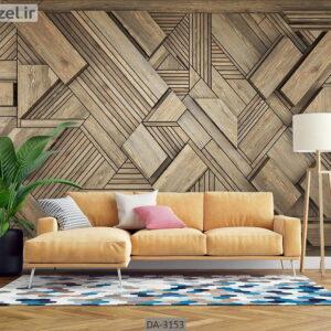 پوستر دیواری طرح چوب DA-3153